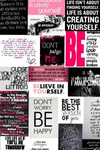 BELIEVE IN YOURSELF:)