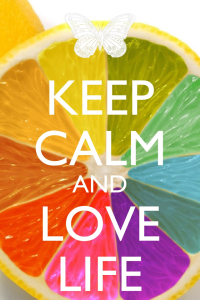 keep calm love life