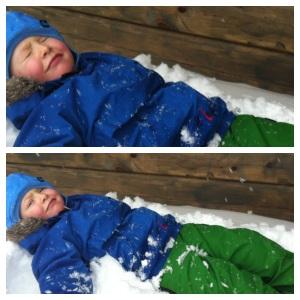 minstemann i snøen